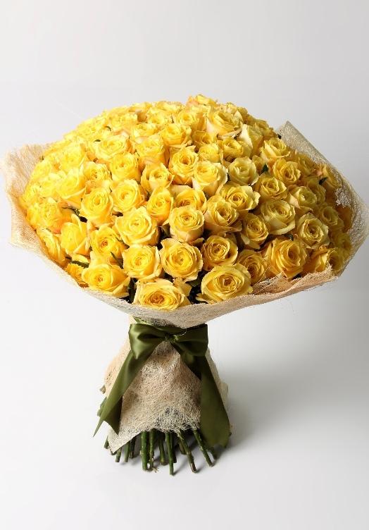 Ode to joy (100 roses) – Bespoke Bouquet