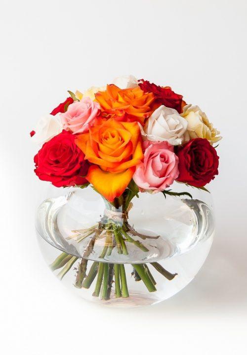 Sunshine in the morning (15 roses)