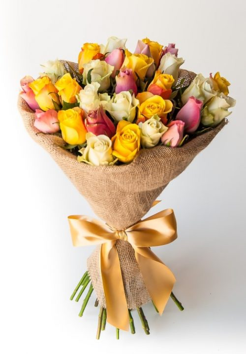 Cheerful (30 roses)
